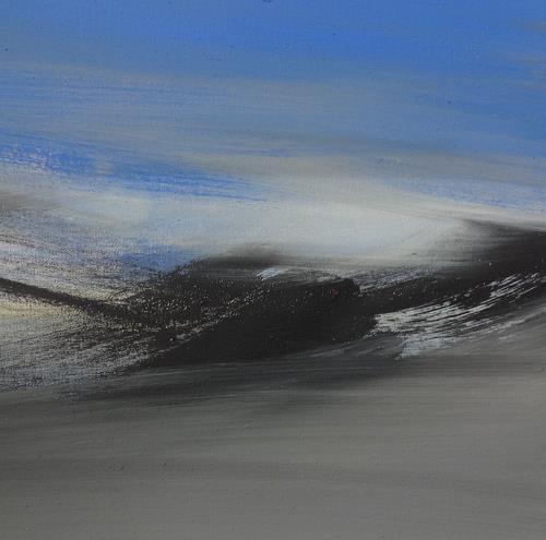 Michael Maderthaner, Landschaft, Landscapes: Hills, Landscapes: Plains, Contemporary Art, Expressionism