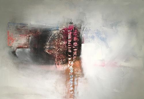 Michael Maderthaner, Illusionen Freiraum, Abstract art, Abstract art, Contemporary Art, Expressionism