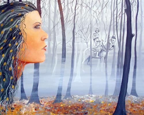 Thomas Suske, ignota obscura, Fantasy, Nature: Wood, Surrealism