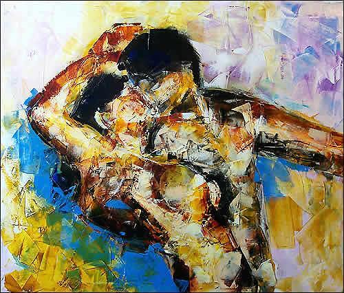 Cecilia Betancourt, La Danza, Expressionism, Post-Impressionism