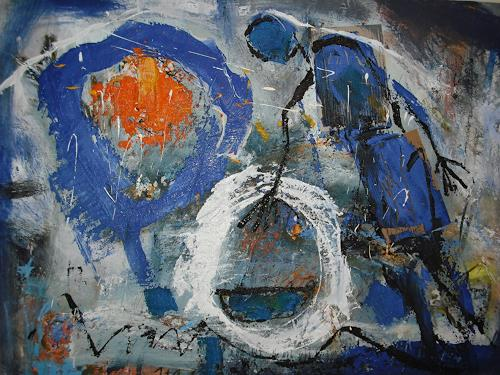 Peter Feichter, O.T, Abstract art, Abstract Expressionism