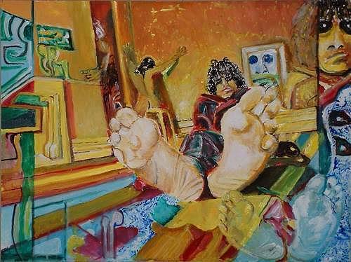 Rudolf Lehmann, Feeds - Syd Barrett, Music: Musicians, Death/Illness, Neo-Expressionism
