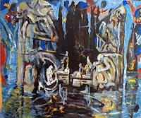 Rudolf-Lehmann-Landscapes-Sea-Ocean-Abstract-art-Contemporary-Art-Neo-Expressionism