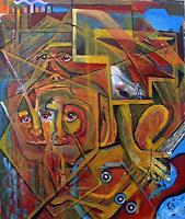 Rudolf-Lehmann-Miscellaneous-Music-Abstract-art-Contemporary-Art-Neo-Expressionism