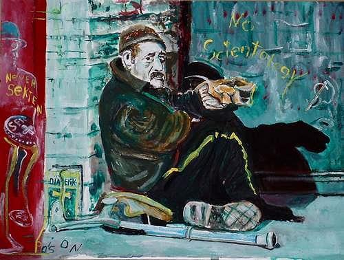 Rudolf Lehmann, Vietnam Veteran in Seattle, Society, Emotions: Depression, Neo-Expressionism