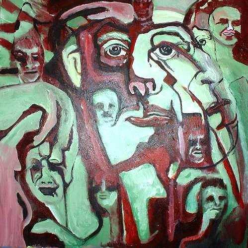 Rudolf Lehmann, Seelenfänger, Fantasy, Mythology, Neo-Expressionism