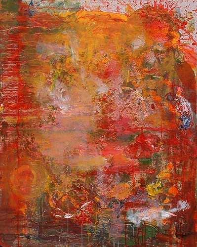 Rudolf Lehmann, Solar-Fire, Abstract art, Nature: Fire, Neo-Expressionism