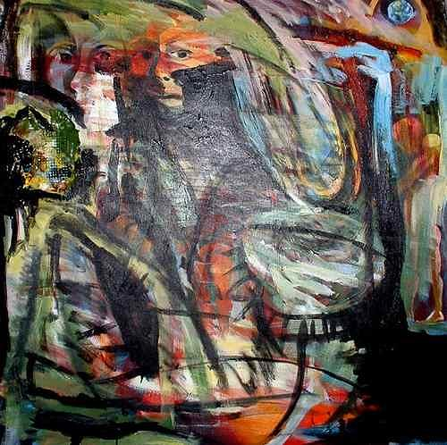 Rudolf Lehmann, Nightmare, Emotions: Aggression, Abstract art, Neo-Expressionism