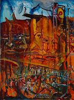 Rudolf-Lehmann-Architecture-Abstract-art-Contemporary-Art-Neo-Expressionism