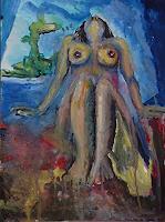 Rudolf-Lehmann-Erotic-motifs-Female-nudes-Mythology-Contemporary-Art-Neo-Expressionism