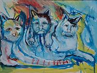 Rudolf-Lehmann-Animals-Land-Miscellaneous-Emotions-Contemporary-Art-Neo-Expressionism