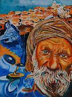 Rudolf-Lehmann-Harvest-People-Men-Contemporary-Art-Neo-Expressionism