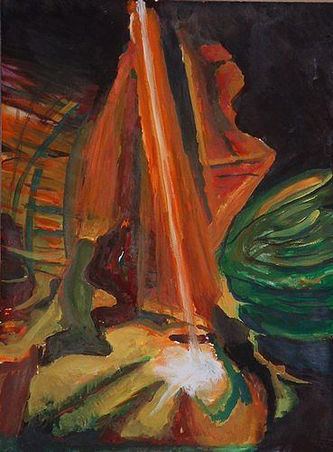 Rudolf Lehmann, Licht, Abstract art, Nature: Miscellaneous, Neo-Expressionism