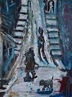 Rudolf-Lehmann-Interiors-Villages-Emotions-Safety-Contemporary-Art-Neo-Expressionism