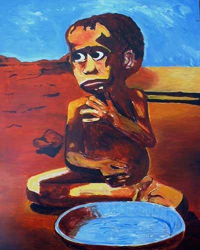 Rudolf Lehmann, alle 3 Sekunden stirbt ein Kind, People: Children, Meal, Pluralism