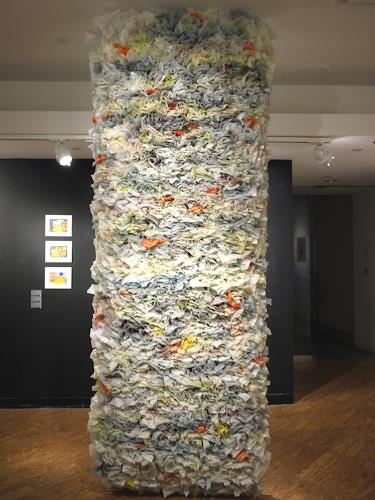Monika Radhoff-Troll, WaPo Carpet, Society, Symbol, Abstract Expressionism