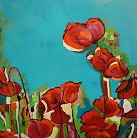 Sandra-Frauchiger-Schlug-Plants-Flowers-Modern-Age-Impressionism