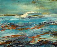 Sandra-Frauchiger-Schlug-Landscapes-Sea-Ocean-Modern-Age-Impressionism