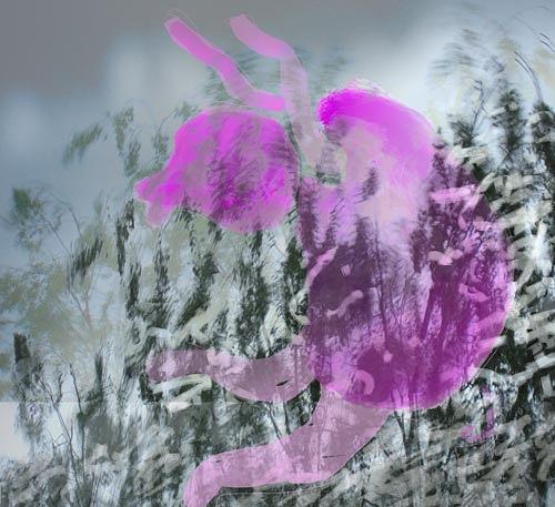 Rotraut Richter, Im Gras, Movement, Nature: Miscellaneous, Contemporary Art