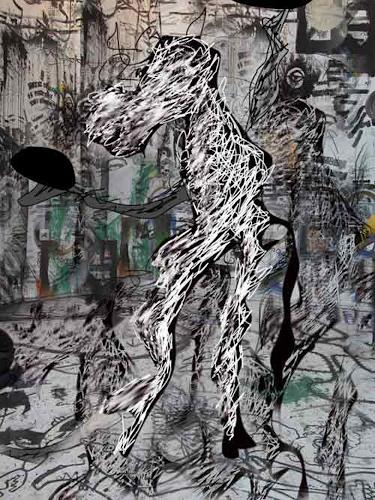 Rotraut Richter, FantaPferd im Multikulti, Times: Today, Situations, New Image Painting