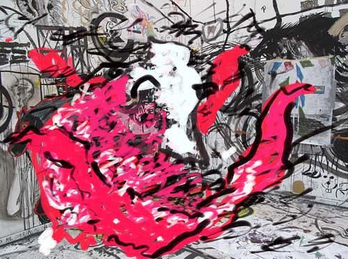 Rotraut Richter, Fantatier im Multikulti, Miscellaneous Animals, Burlesque, New Image Painting