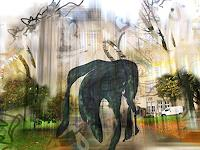 Rotraut-Richter-Burlesque-Miscellaneous-Romantic-motifs-Contemporary-Art-New-Image-Painting