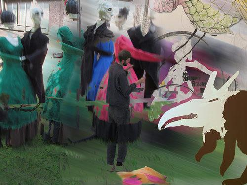Rotraut Richter, Detmolder Tänzer & 7. Berlin Biennale, People: Models, Society, New Image Painting