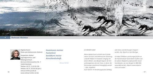 Rotraut Richter, Panoramabild - Katalogseite, Miscellaneous, Nature: Miscellaneous, New Image Painting