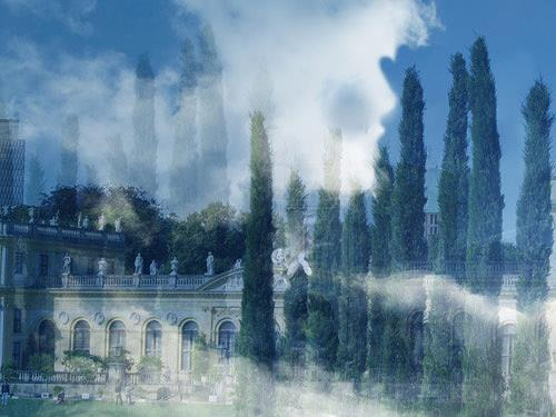 Rotraut Richter, Wolkengestalt auf der dOCUMENTA 13, Fantasy, Situations, Contemporary Art, Expressionism