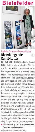 Rotraut Richter, Bielefelder Artikel, Miscellaneous, Situations, Contemporary Art