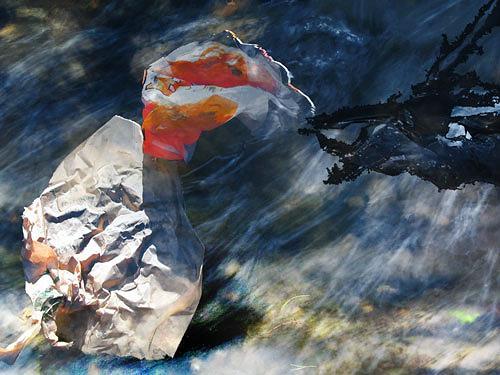 Rotraut Richter, Müllwesen im Wasser, Animals: Water, Burlesque, Contemporary Art