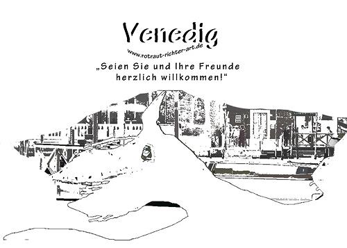 Rotraut Richter, Venedig, Interiors: Cities, Burlesque, Modern Times