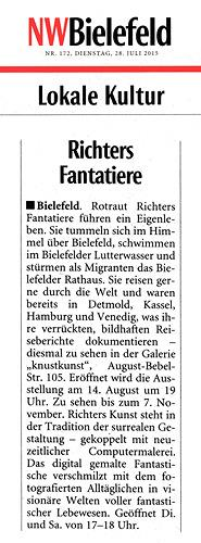 Rotraut Richter, NW-Bielefeld-Artikel, Miscellaneous, Burlesque, Contemporary Art