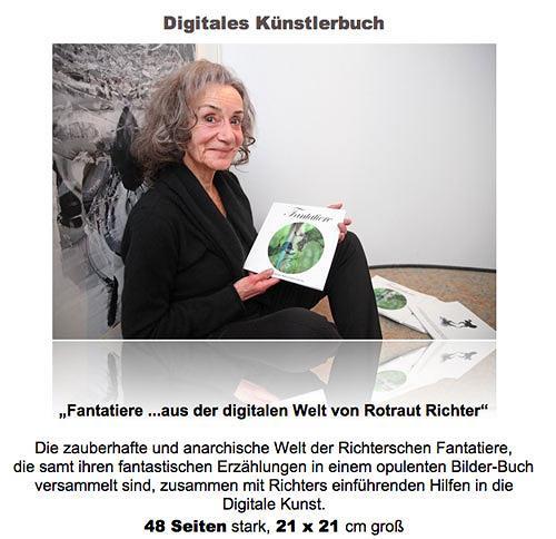Rotraut Richter, Künstlerbuch, Miscellaneous Animals, Fantasy, Contemporary Art