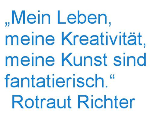 Rotraut Richter, Mein Motto, Situations, Miscellaneous Animals, Contemporary Art