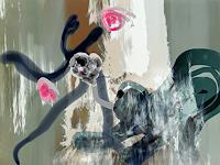 Rotraut-Richter-Miscellaneous-Animals-Fantasy-Contemporary-Art-New-Image-Painting