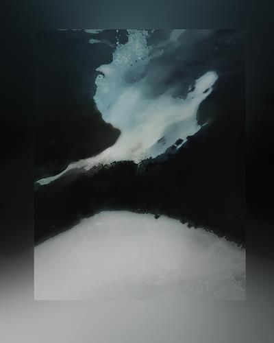 Rotraut Richter, Eiskalt, Nature: Miscellaneous, Times: Future, Contemporary Art, Abstract Expressionism