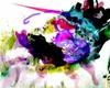 Rotraut Richter, SONDERBARES TIER, Burlesque, Fantasy, New Image Painting