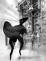 R. Richter, Rodins Höllentor und Fantatier Rodin's Gates of Hell and Fanta animal