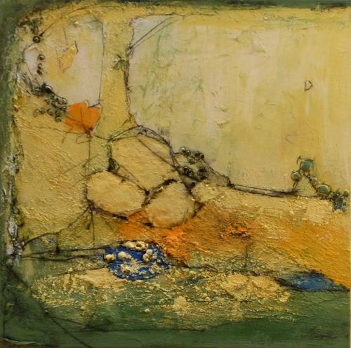 Philippin, Inge, A Sunny Day 1, Abstract art, Contemporary Art, Expressionism