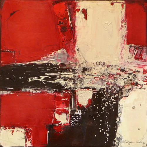 Philippin, Inge, On the Way, Abstract art, Contemporary Art, Abstract Expressionism