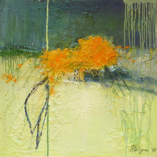 Philippin, Inge, Gardens 3, Abstract art, Contemporary Art, Expressionism