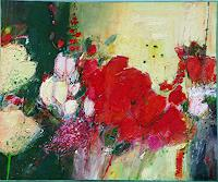 Philippin--Inge-Landscapes-Spring-Plants-Flowers-Contemporary-Art-Contemporary-Art