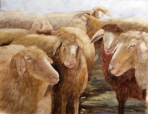 Philippin, Inge, Landschaftshüter, Animals: Land, Belief, Contemporary Art, Expressionism