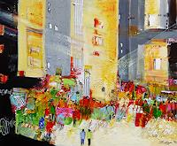 Philippin--Inge-Buildings-Skyscrapers-People-Group-Contemporary-Art-Contemporary-Art