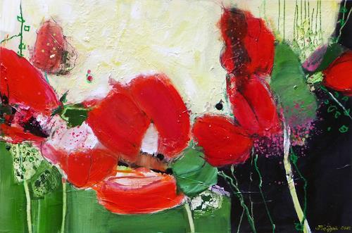 Philippin, Inge, Celebrating Summer, Landscapes: Summer, Plants: Flowers, Contemporary Art