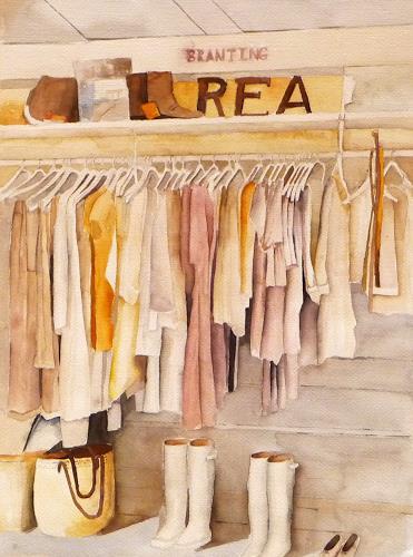 Philippin, Inge, Boudoir, Fashion, Interiors: Rooms, Contemporary Art
