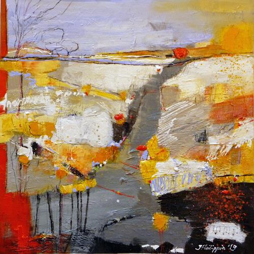 Philippin, Inge, The long road (song from Mark Knopfler), Music: Musicians, Times: In The Past, Contemporary Art, Expressionism