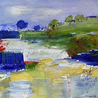 Philippin--Inge-Landscapes-Spring-Emotions-Joy-Contemporary-Art-Contemporary-Art