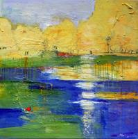 Philippin--Inge-Landscapes-Summer-Nature-Miscellaneous-Contemporary-Art-Contemporary-Art